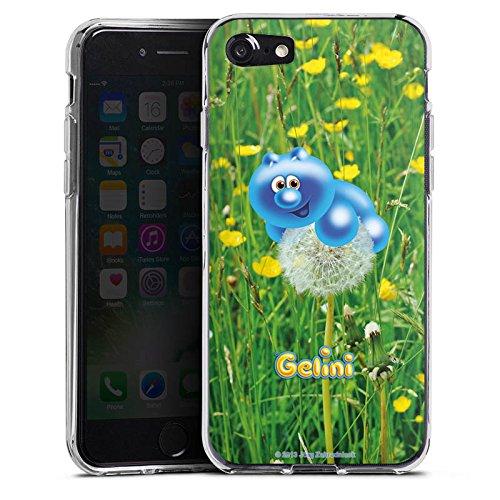 Apple iPhone X Silikon Hülle Case Schutzhülle Gelini Gummibärchen Pusteblume Silikon Case transparent