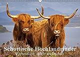 Schottische Hochlandrinder. Freundlich, schön und robust (Wandkalender 2018 DIN A3 quer): Die wuscheligen und genügsamen Hochlandrinder aus Schottland ... [Kalender] [Apr 01, 2017] Stanzer, Elisabeth