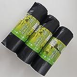 Sacs poubelle 120L 160L 240L Heavy Duty Drawstring Sacs poubelle Bin Liner Très résistance et forte de Soncare (160L)