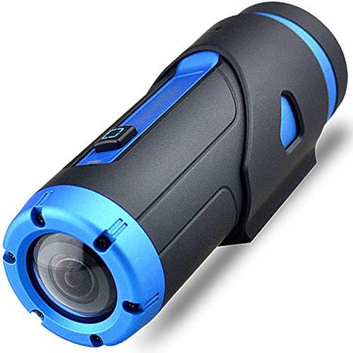 1080P Full HD Action Kamera,Mini Wlan Wasserdicht(Nicht Case)Nachtsicht Dash Cam Kamera mit Drahtlose Fernbedienung&Dashcam Zubehör Montieren für Motorrad Helm,Stativ,Fahrrad,Fahrradlenker,Star light (Star Light Fernbedienung)