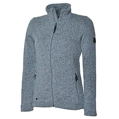 Mckinley D-Fleece-Jacke Kipapa - grey light