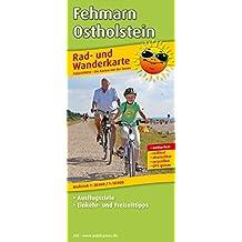 Fehmarn - Ostholstein: Rad- und Wanderkarte mit Ausflugszielen, Einkehr- & Freizeittipps, wetterfest, reissfest, abwischbar, GPS-genau. 1:30000/1:50000 (Rad- und Wanderkarte/RuWK)
