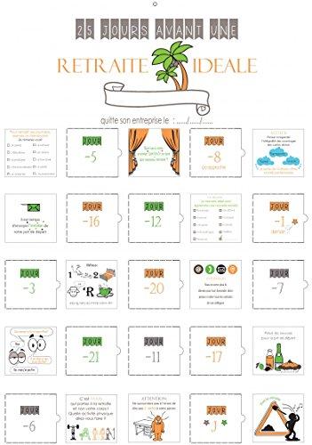 Calendario Adviento jubilación cuenta atrás regalo