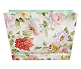 #8: PPJ-PAPER CARRY BAG, (FLORAL) 16 Inch X 12 Inch X 4 Inch (PACK OF 30)