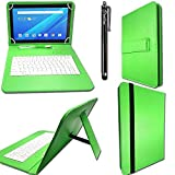 iTechCover® Green Keyboard Case for Alcatel A3 10