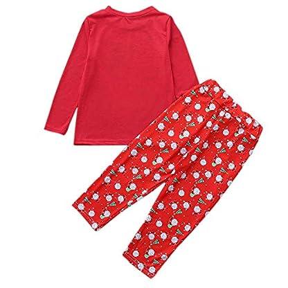 Polp Niño Navidad Ropa Niñas Unisex Pijama Bebe Navidad Regalo Estampado De Navidad Manga Larga Vestido Estampado De Santa Claus Tops Y Pantalones 2pc