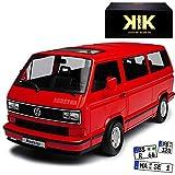 KK-Scale Volkwagen T3 Bus Multivan Red Star Rot Transporter 1979-1992 limitiert 1 von 500 Stück 1/18 Modell Auto