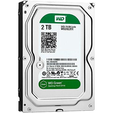 Western Digital WD20EZRX - Disco duro interno de 2 TB (SATA III, 3.5