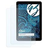 Bruni Schutzfolie für Medion LIFETAB E10501 MD60240 / MD60331 Folie, glasklare Displayschutzfolie (2X)
