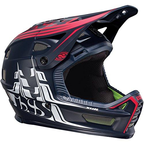 IXS Downhill-MTB Helm Xult Schwarz Gr. L/XL