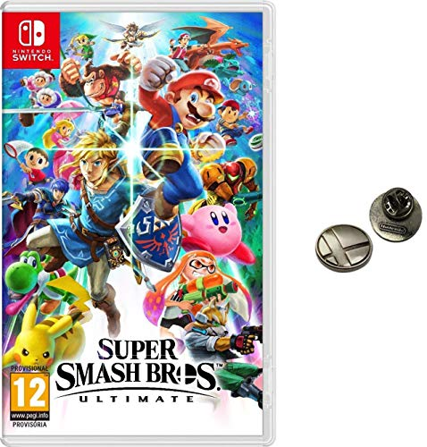 Super Smash Bros. Ultimate + Pin (Nintendo Switch) (precio: 64,90€)