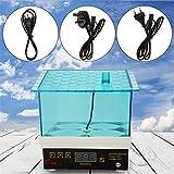Cheerfulus 4 Ei Super Mini Drehen Inkubator Huhn Hutmacher Temperatur Kontrolle von, automatische digitale Geflügel Luke Ei Inkubator