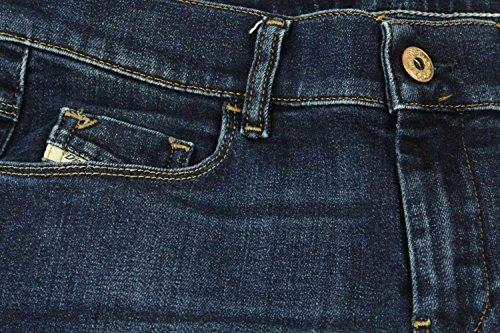 Diesel Damen Straight Jeans Sandy Pantaloni Blue Denim