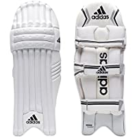 adidas XT 1.0 - Bloc de bateo de críquet, color blanco, negro y plateado, tamaño LHM