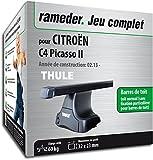 Rameder Pack Barres de Toit SquareBar pour CITROËN C4 Picasso II (116064-11238-1-FR)