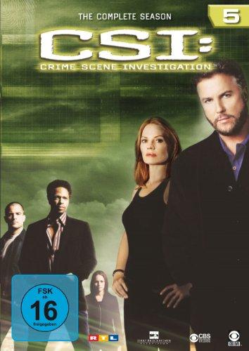 CSI: Crime Scene Investigation - Die komplette Season 5 [6 DVDs] hier kaufen