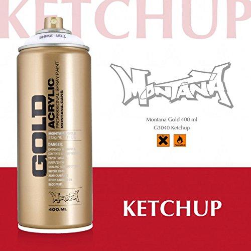 Montana Gold Serie, 3040 ketchup, 400 ml Sprühdose