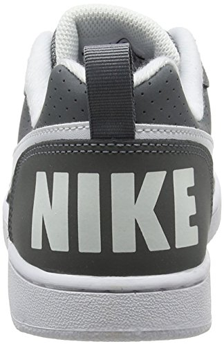 Nike Court Borough Low (Gs), Scarpe da Basket Bambino Grigio (Cool Grey/white)