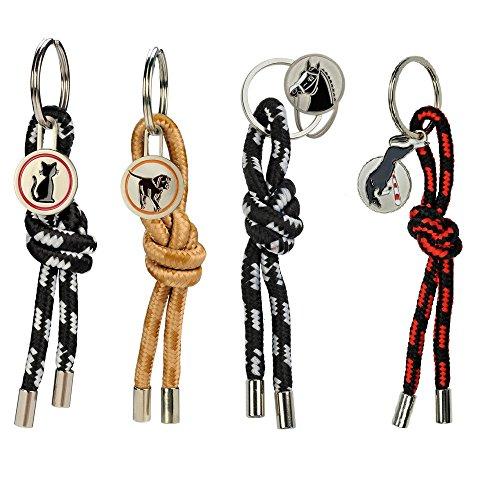 NETPROSHOP Schlüsselanhänger Einkaufswagenlöser - ohne Chip beim Einkaufen Auswahl, Auswahl:Hund