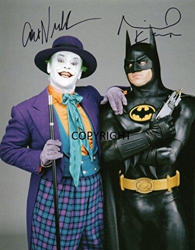 Limited Edition Jack Nicholson Joker Batman unterzeichnet Foto Autogramm signiertsigniertes (Foto-und Autogramm-buch)