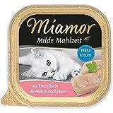 Miamor Milde Mahlzeit Kitten Thunfisch & Huhnstückchen 16 x 100 g