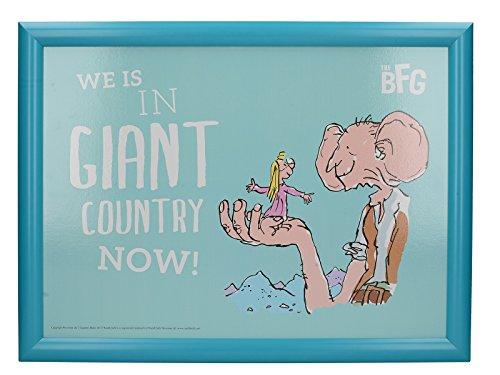 Creative Tops Roald Dahl acolchada puf bandeja de regazo con impreso BFG...