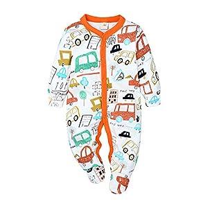 Nwada Ropa Bebe Chandal Chico Conjunto para Niña Recien Nacido Pijama Nino Vestido Otoño Invierno 0-18 Meses 6