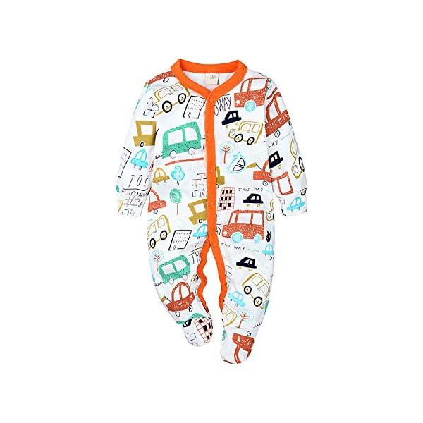 Nwada Ropa Bebe Chandal Reborn Chico Conjunto para Niña Recien Nacido Pijama Nino Vestido Primavera Pascua 0-18 Meses 1