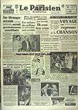 Telecharger Livres PARISIEN LIBERE LE No 1573 du 04 10 1949 UNE ALLEMAGNE ORIENTALE SERAIT PROCHAINEMENT CONSTITUEE LES VOLEURS DES MILLIONS DU SAINT RAPHAEL SONT ARRETES VOYAGE AU ROYAUME DE LA CHANSON PAR FOURNEL LA CRISE ET QUEUILLE 500 REFUGIES D EUROPE ORIENTALE TENTENT DE GAGNER LE CANADA LES SPORTS (PDF,EPUB,MOBI) gratuits en Francaise