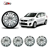#5: WSS Premium Quality Car Silver Wheel Cover Caps 15