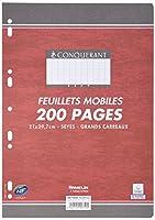 CONQUERANT sept feuillets mobiles 210 x 297 Sèyes, 90gr200 pages HAMELIN(759 / 100102150)