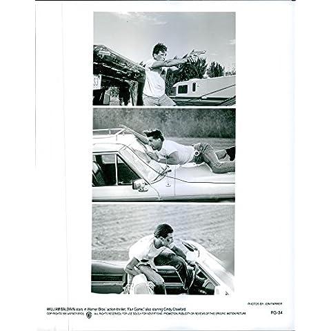 Vintage photo of Stills of William Baldwin from the film Fair (Baldwin Magazine)