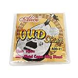 Musiclily Alice Nylon et plaqué argent Wound 11 cordes Oud Jeu de cordes