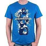 Overwatch Herren T-Shirt Mei zum Game blau - XL