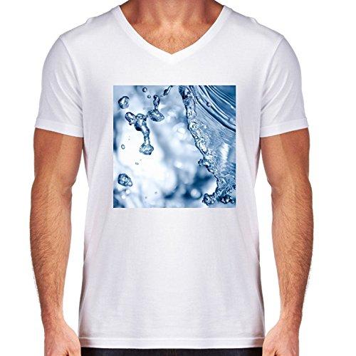camiseta-blanca-con-v-cuello-para-los-hombres-tamano-l-waterbubbles-by-utart