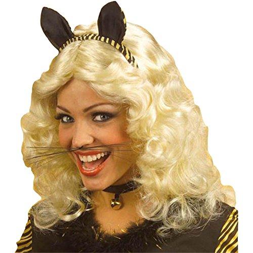 ��AC1582–Schnurrhaare, Katze, lang, schwarz (Halloween Katze Schnurrhaare)