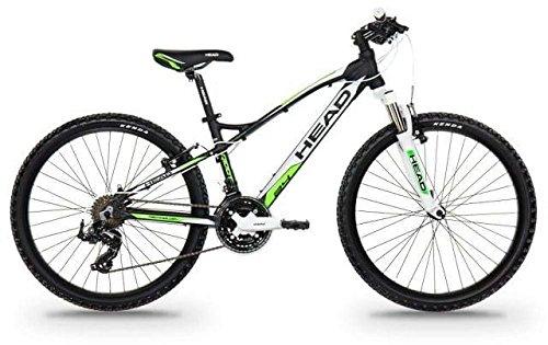 Bicicleta niño 24 pulgadas HEAD RIDOTT I Negro mate/Verde