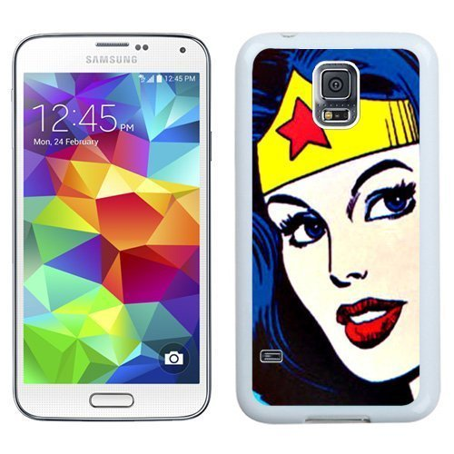 fashionable-and-grace-galaxy-s5-casedurable-i9600-case-design-with-wonder-woman-face-white-case-for-