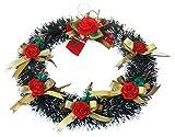 #8: Decorika Christmas Wreath ,Green (38 * 38 cms)