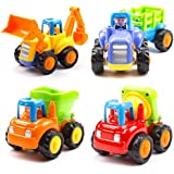 Webby Unbreakable Construction Automobiles Toy Set