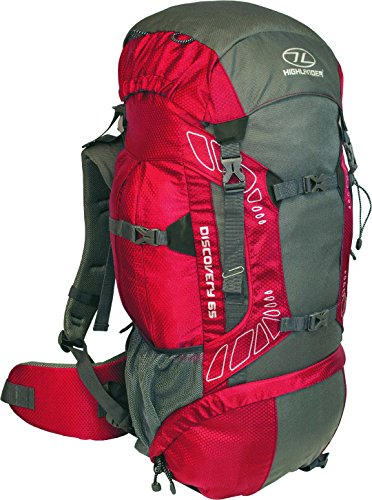 Highlander Discovery RUC181-RD Sac à dos Rouge 26 x 34...