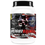 Heavy Weight Gainer, carboidrati e proteine, BBGENICS integratori alimentari, 1000g Vanilla