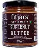 FITJARS Supernut Butter (Coconut/Almond/Chia/Flax), All Natural Stone Ground Keto Diet Vegan Butters-200 Gm