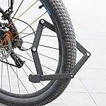 YUNB-Strumento-Anti-furto-per-Bicicletta-Pieghevole-Rosso-antifurto-per-Bicicletta-Pieghevole-per-Bici-da-Strada-per-Mountain-Bike