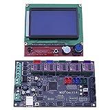 asiproper 3d-Drucker MKS-Gen V1.4Mainboard + LCD Display 12864+ mit DRV8825Treiber