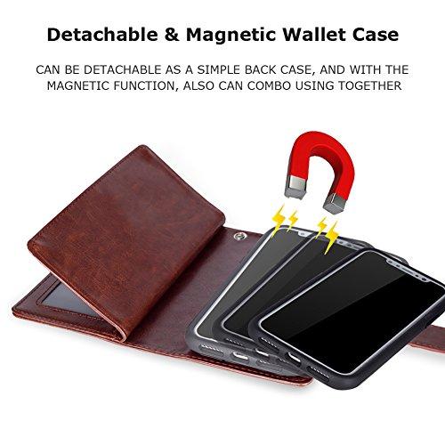 ... Custodia a portafoglio con porta carte di credito 45348eae50f