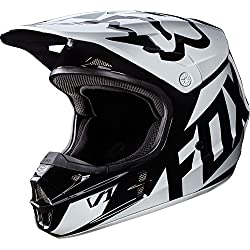 Casco Mx Fox 2017 V1 Race Negro (L , Negro)