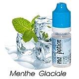 MA POTION - Eliquide Saveur Menthe Glaciale, Eliquide Français Ma Potion, recharge liquide cigarette électronique. Sans nicotine ni tabac