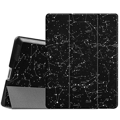 Fintie Apple iPad 2/3/4 Hülle Case - Ultradünne Superleicht Schutzhülle Slim Shell Cover Tasche Etui mit Auto Schlaf/Wach und Standfunktion für Apple iPad 2 / iPad 3 / iPad 4 Retina, Sternbild