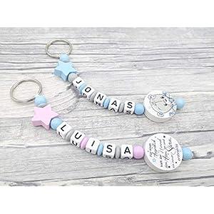 Schnlüsselanhänger, Baby Schlüsselanhänger mit Namen, personalisierbar, Sternenkind